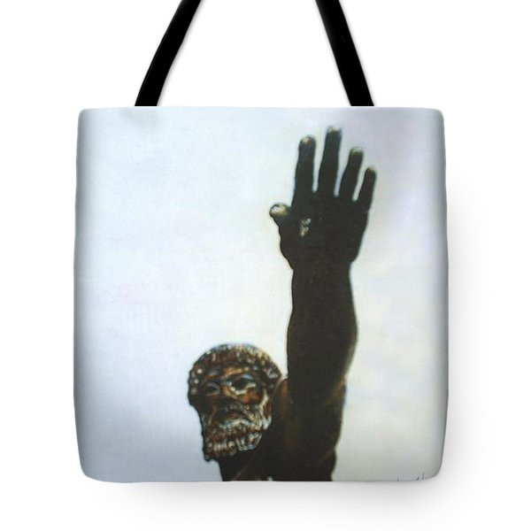 Zues Tote Bag