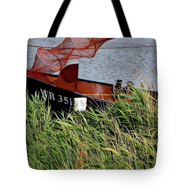 Tote Bag featuring the photograph Zuiderzee Boat by KG Thienemann