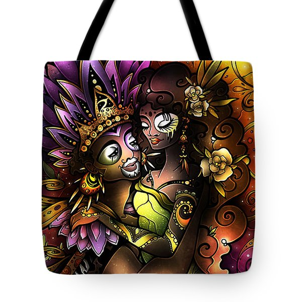 Zulu Love Tote Bag