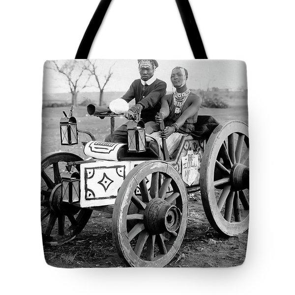 Zulu Motor Cab 1903 Tote Bag