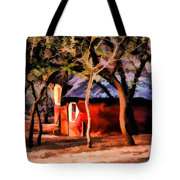 Zulu Sunset Tote Bag