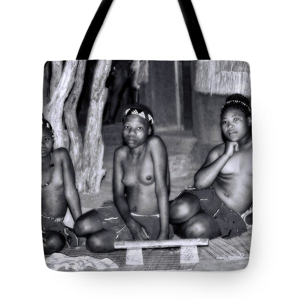 Tote Bag featuring the photograph Zulu Women by Rick Bragan