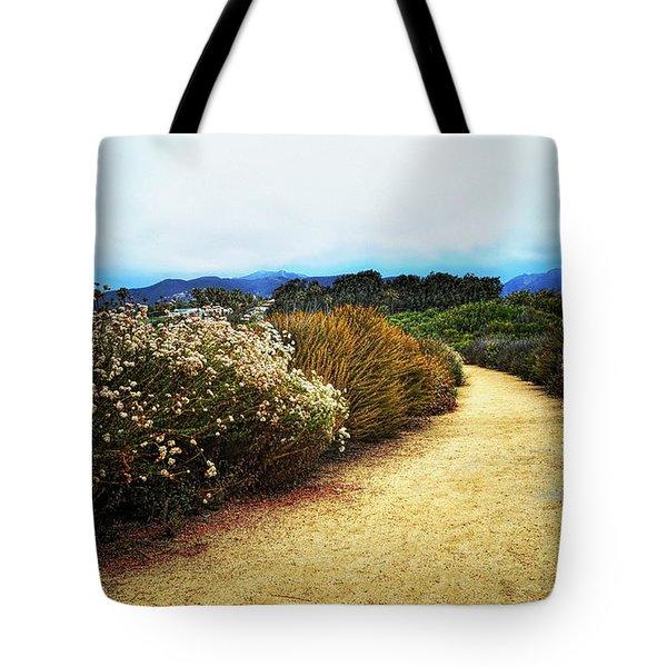Zuma Beach Pathway Tote Bag
