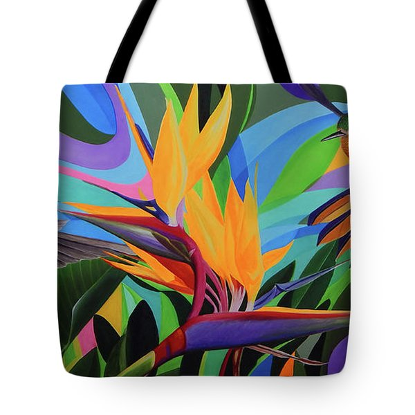 Zumbador Canela Tote Bag by Angel Ortiz