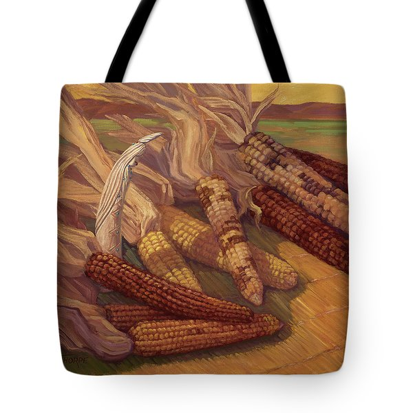 Zuni Corn Maiden Tote Bag
