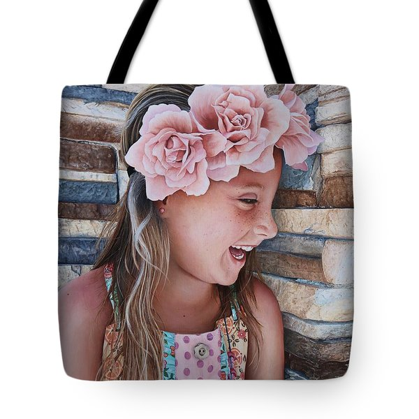 Zuri Painting Tote Bag