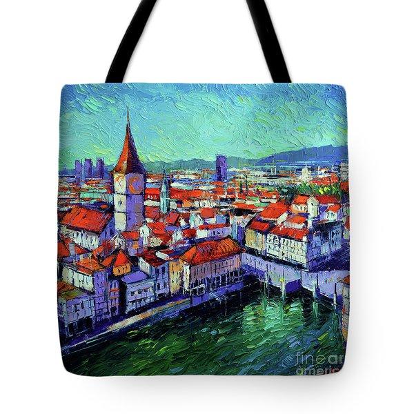 Zurich View Tote Bag