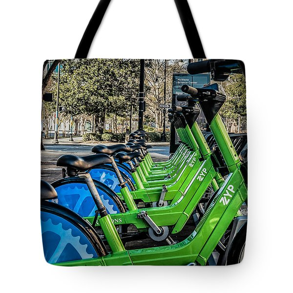 ZYP Tote Bag by Phillip Burrow