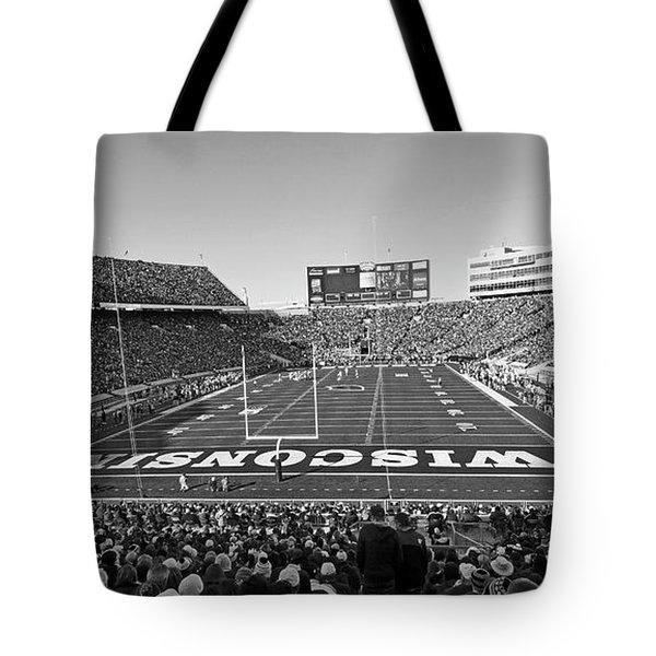 0095 Bw Camp Randall Stadium Tote Bag