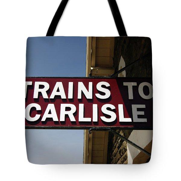06/06/14 Settle. Station View. Destination Board. Tote Bag