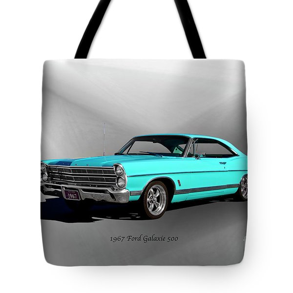1967 Ford Galaxie 500 Tote Bag