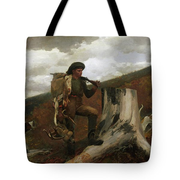 A Huntsman And Dogs, 1891 Tote Bag