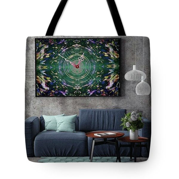 Abstract Cherry Blossom Tote Bag