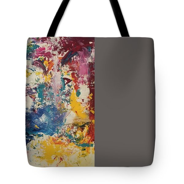 Playing With Color IIi Tote Bag