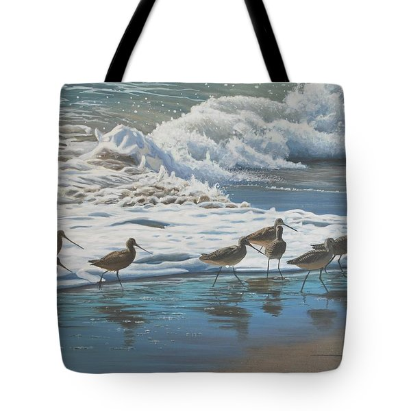 Afternoon Surf Tote Bag