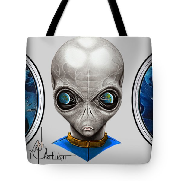 Aliens From Space Tote Bag