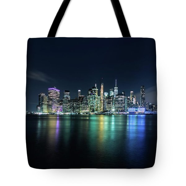All Night Long Tote Bag