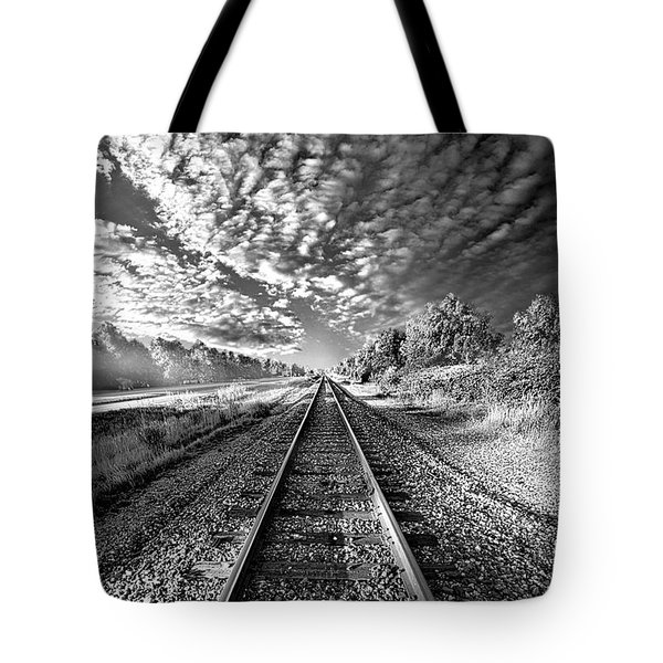 Tote Bag featuring the photograph All The Way Home by Phil Koch