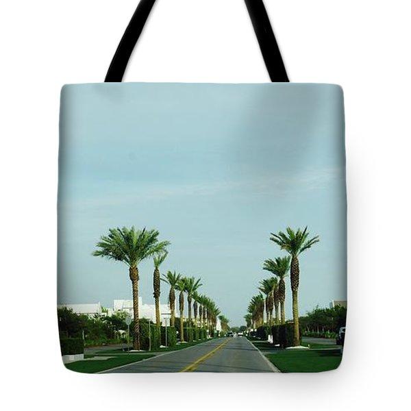 Alys Beach Entrance Tote Bag