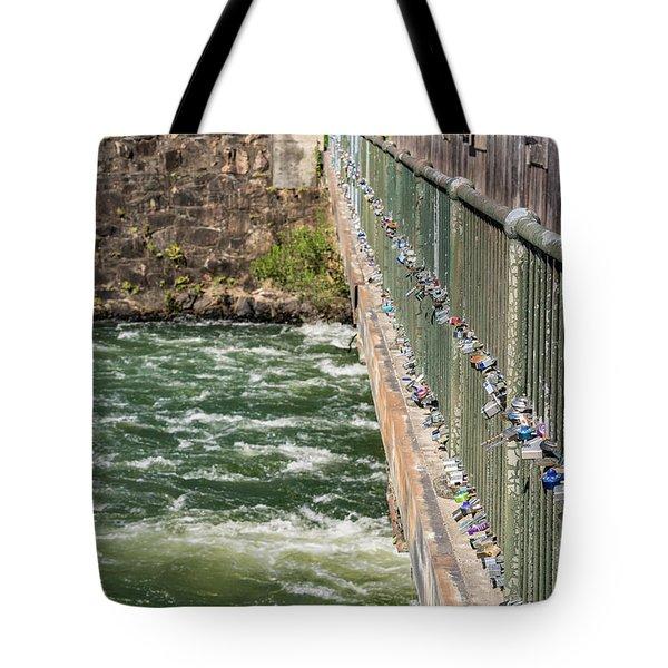 Augusta Canal Headgates - Augusta Ga Tote Bag