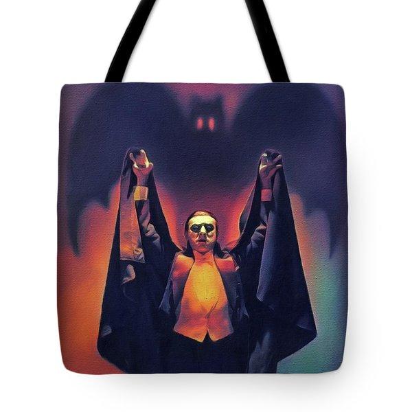 Bela Lugosi As Dracula Tote Bag