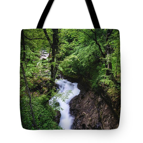 Bela River, Balkan Mountain Tote Bag