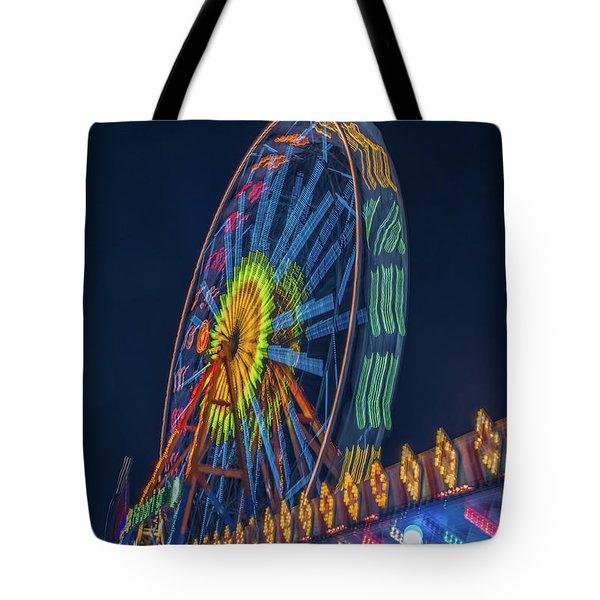 Big Wheel-2 Tote Bag