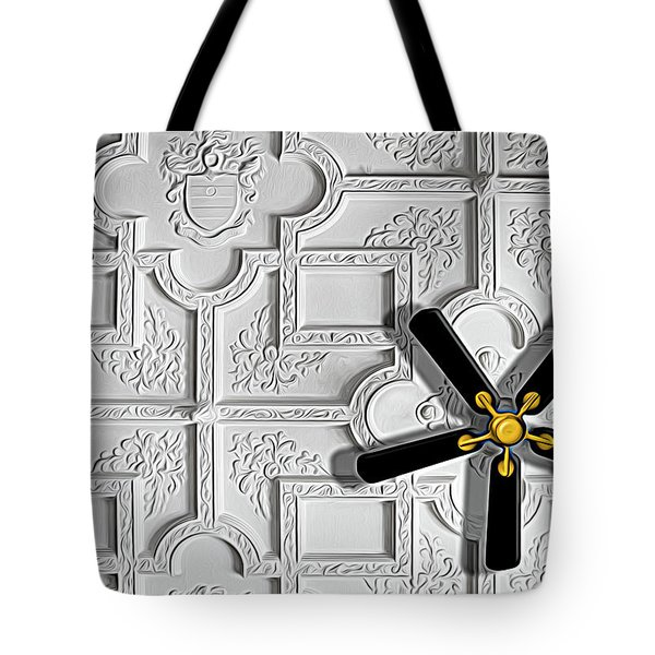 Black And White In Color Tote Bag