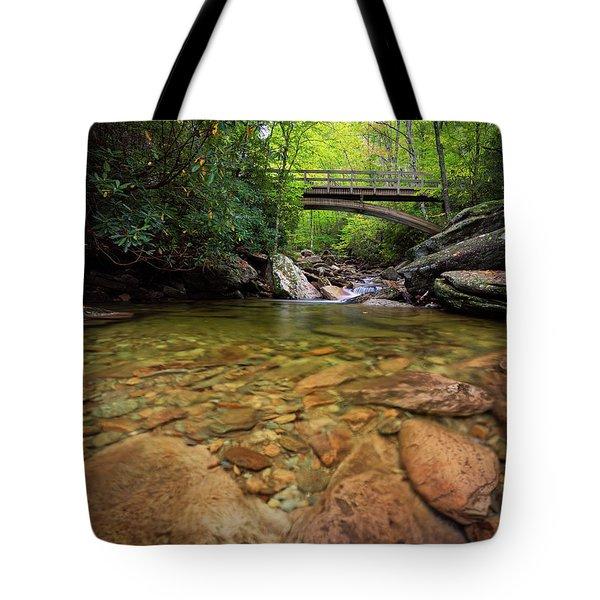 Boone Fork Bridge - Blue Ridge Parkway - North Carolina Tote Bag