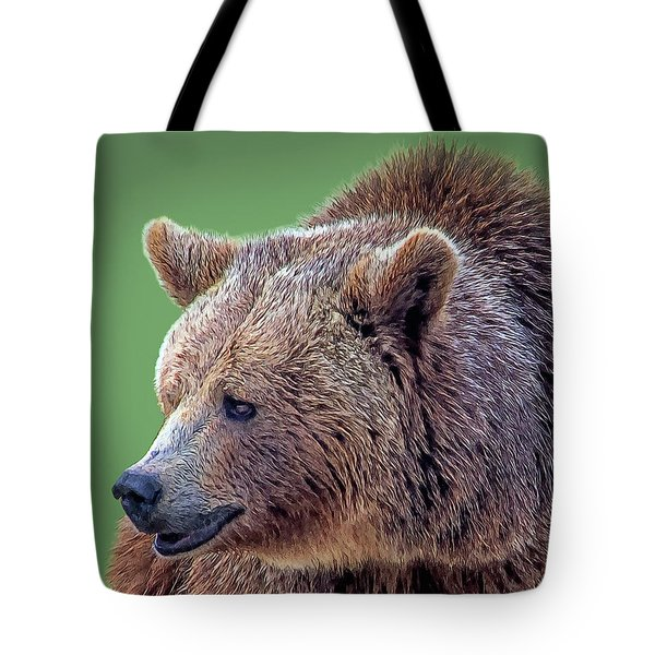 Brown Bear 5 Tote Bag