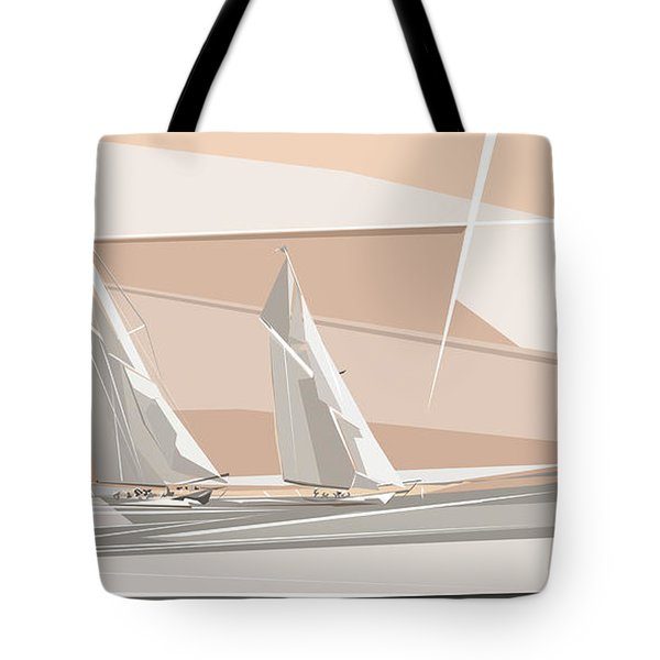 C-class Yachts  Tote Bag