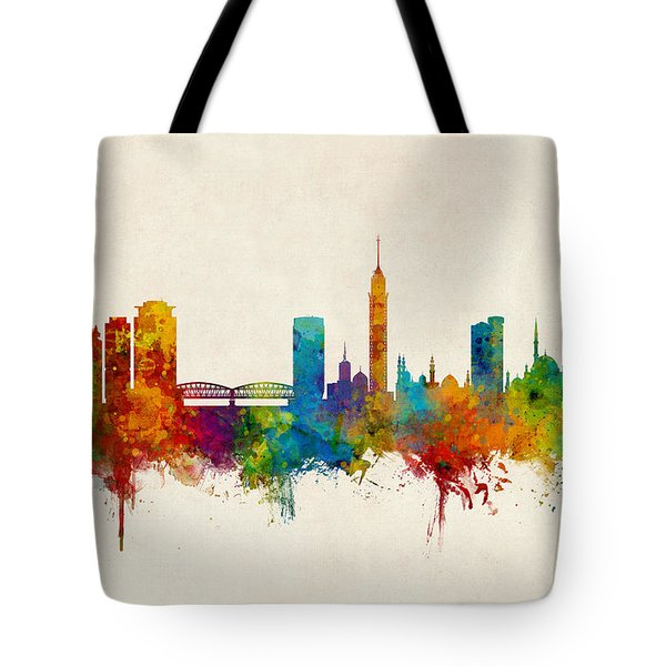 Cairo Egypt Skyline Tote Bag