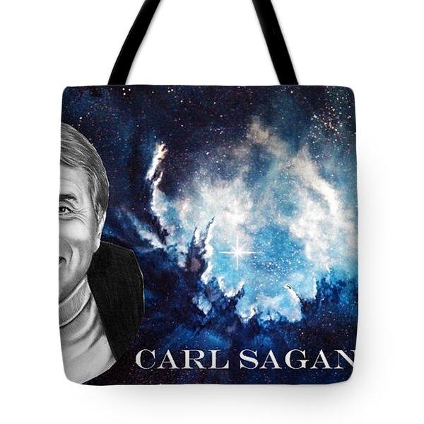Carl Sagan  Tote Bag