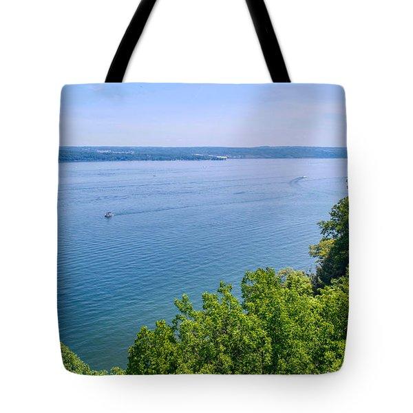 Cayuga Lake Tote Bag
