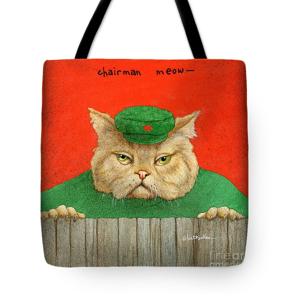 Chairman Meow... Tote Bag