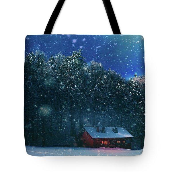 Chalet Tote Bag