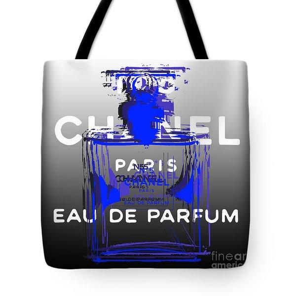 Chanel No 5 - Pop Art Tote Bag