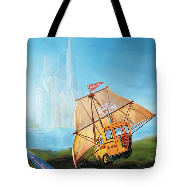 City On The Sea Tote Bag