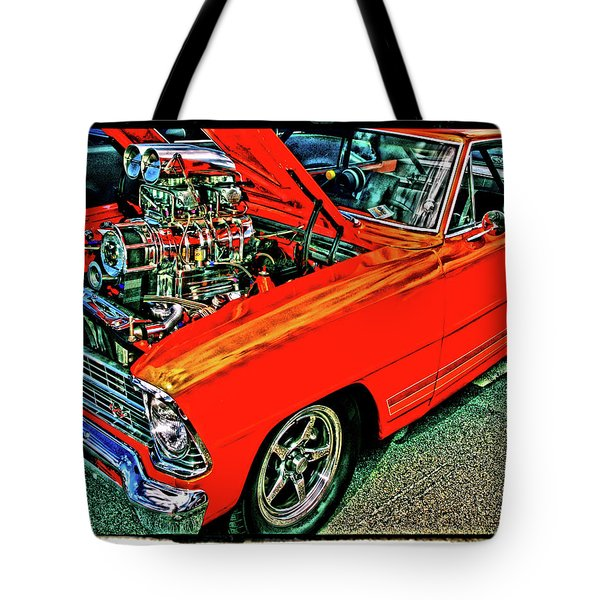 Classic Chevy Tote Bag