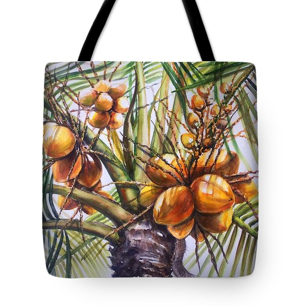 Coconut Tree Tote Bag