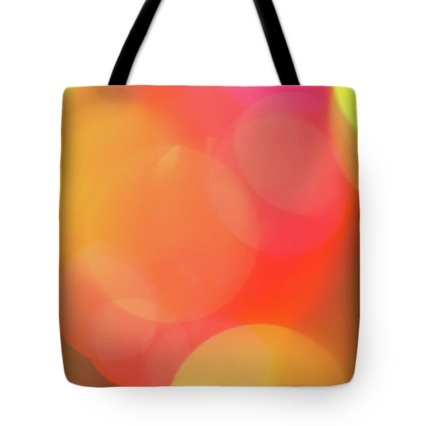 Tote Bag featuring the photograph Color Splash Iv by Anne Leven