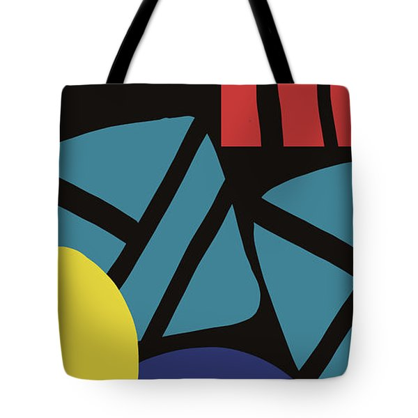 Colorful Bento 3- Art By Linda Woods Tote Bag