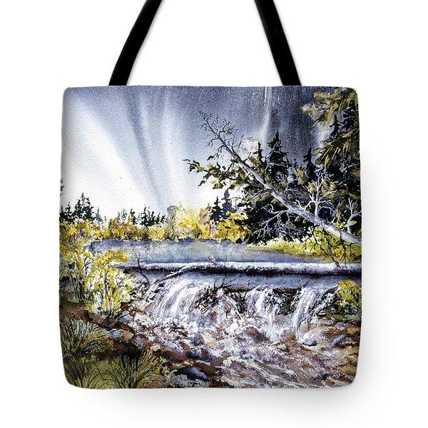 Crystal Creek Tote Bag