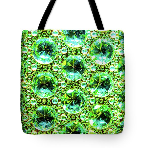Cut Glass Beads 2 Tote Bag