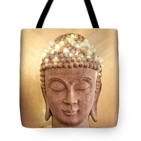Tote Bag featuring the photograph Dawn Buddha by LeeAnn Kendall
