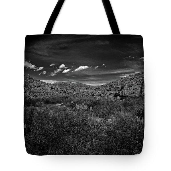 Desert And Sky Tote Bag