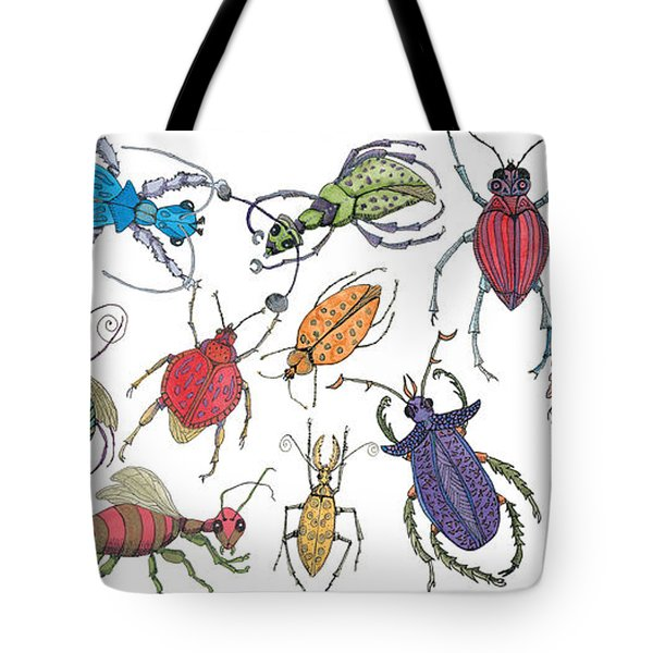 Doodle Bugs Tote Bag