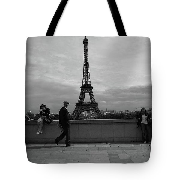 Eiffel Tower, Tourist Tote Bag