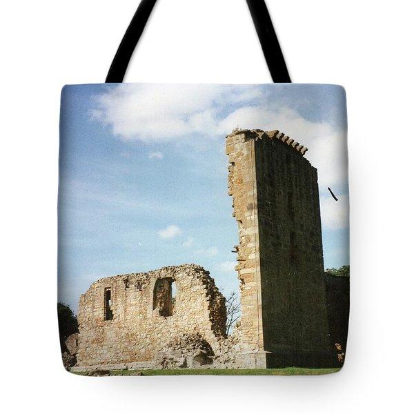 Elgin Cathedral Tote Bag