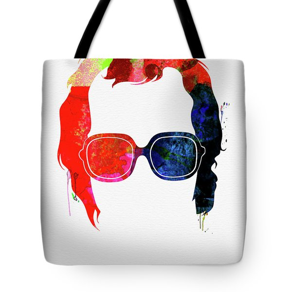 Elton Watercolor Tote Bag